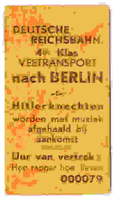 Transport de bétail vers Berlin – Les nazis sont accueillis en fanfare