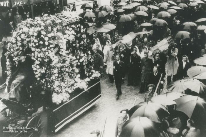 Cortège d'enterrement