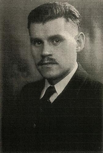 Photo d'identité du résistant juif Josef Sterngold en 1943
